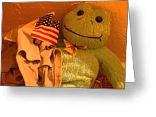 Film Homage The Muppet Movie 1979  Number 2 Froggie Smudge Stick Casa Grande Az 2004-2009 Greeting Card