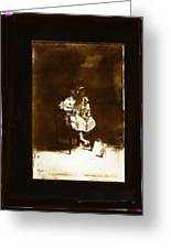 Film Homage Tod Browning Freaks 1932 Child With Doll The Devil Doll 1936 1890's-2008 Greeting Card