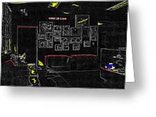 Film Homage Tora Tora Tora 1970 Uss Arizona Memorial U Of A 1985-2008 Greeting Card