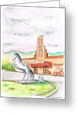Film Museum In Lone Pine, California Greeting Card