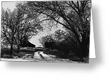 Film Noir Burt Lancaster Robert Siodmak The Killers 1946 Farm House Near Aberdeen Sd 1965 Greeting Card
