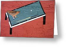 Film Noir Phil Carlson The Phenix City Story 1955 Wall Diamond Lills Bar Eloy Arizona 2005 Greeting Card