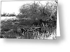 Film Noir Robert Ryan Ida Lupino On Dangerous Ground 1952 2 Wagon Snow Aberdeen Sd 1965 Greeting Card