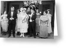 Film Still: By Golly, 1920 Greeting Card