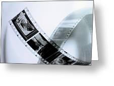 Film Strips Greeting Card