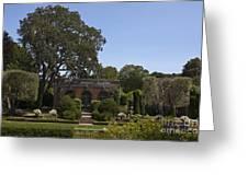 Filoli Sunken Garden Greeting Card