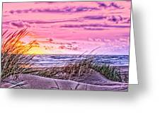 Filtered Beach Greeting Card