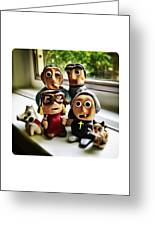 Fimo Family Greeting Card