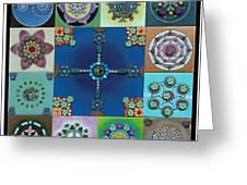 Fimo Mandala Greeting Card