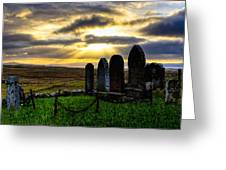 Final Rest On The Isle Of Skye Greeting Card by Mark E Tisdale
