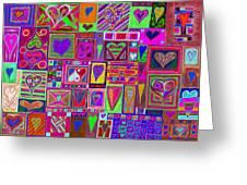find U'r love found v5 Greeting Card