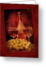 Fine Wine Greeting Card