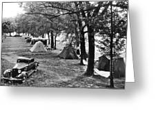 Finger Lakes Camping Greeting Card