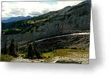 Finger Of Nisqualy Greeting Card