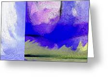 Finger Painting By The Hand Of God 2 Greeting Card