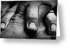 Fingers Greeting Card