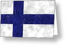 Finland Flag Greeting Card