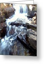 Finlay Park Waterfall Greeting Card