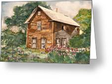 Finlayson Old House Greeting Card
