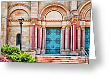 Finney Chapel Oberlin College Greeting Card