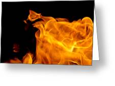 Fire 006 Greeting Card