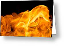 Fire 014 Greeting Card