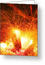 Fire-1 Greeting Card