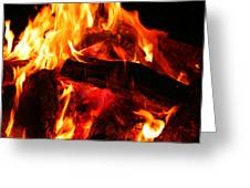 Fire-2 Greeting Card
