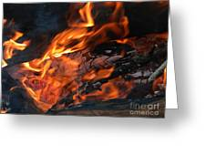Fire 2 Greeting Card