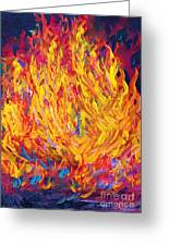 Fire And Passion - Here's To New Beginnings Greeting Card