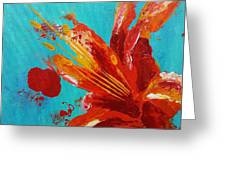 Fire And The Sky Greeting Card