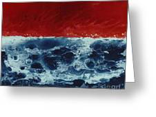 Fire And Water Greeting Card by David Neace