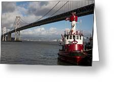 Fire Boat #2 Greeting Card