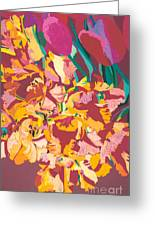 Fire Bouquet Greeting Card