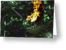 Fire Eater Greeting Card