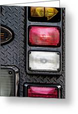 Fire Engine  Greeting Card by Bob Orsillo