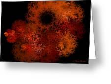 Fire Hole Greeting Card