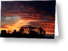 Glorious Sky Greeting Card