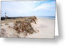Fire Island Landscape Greeting Card