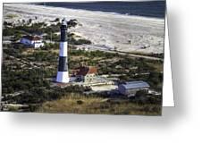 Fire Island Lighthouse 2  4389 Greeting Card
