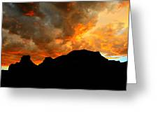 Fire Mountain Greeting Card