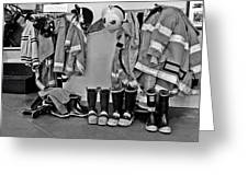 Fire Museum Beaumont Tx Greeting Card by Christine Till