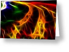Fire Of Life Greeting Card