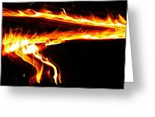Fire On High... Greeting Card