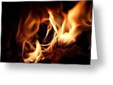 Fire Portal Greeting Card