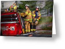 Firefighting - Only You Can Prevent Fires Greeting Card