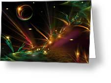 Fireflies Too Greeting Card