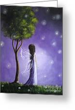 Original Fairy Art By Shawna Erback Greeting Card