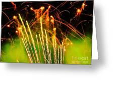 Firefly Fireworks Greeting Card