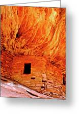 Firehouse Ruins Greeting Card